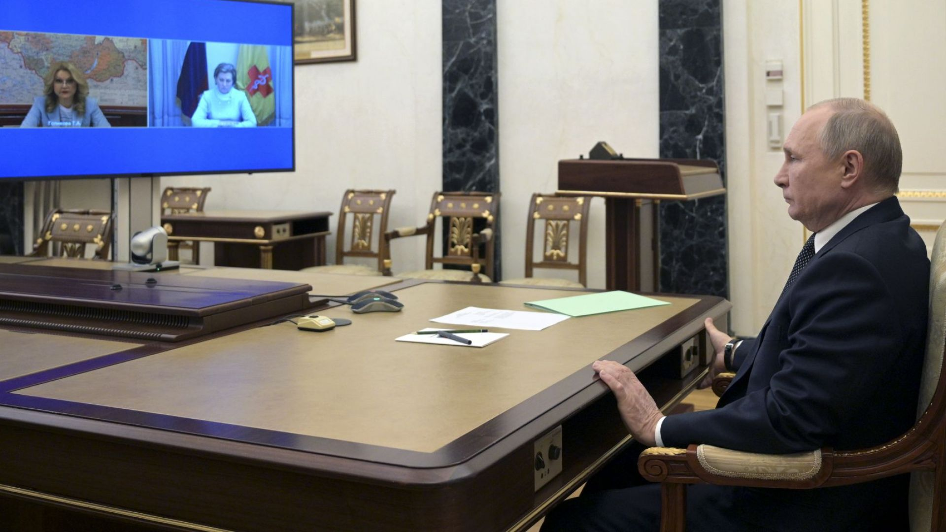 Путин отпусна допълнителни почивни дни в борбата на Русия с коронавируса