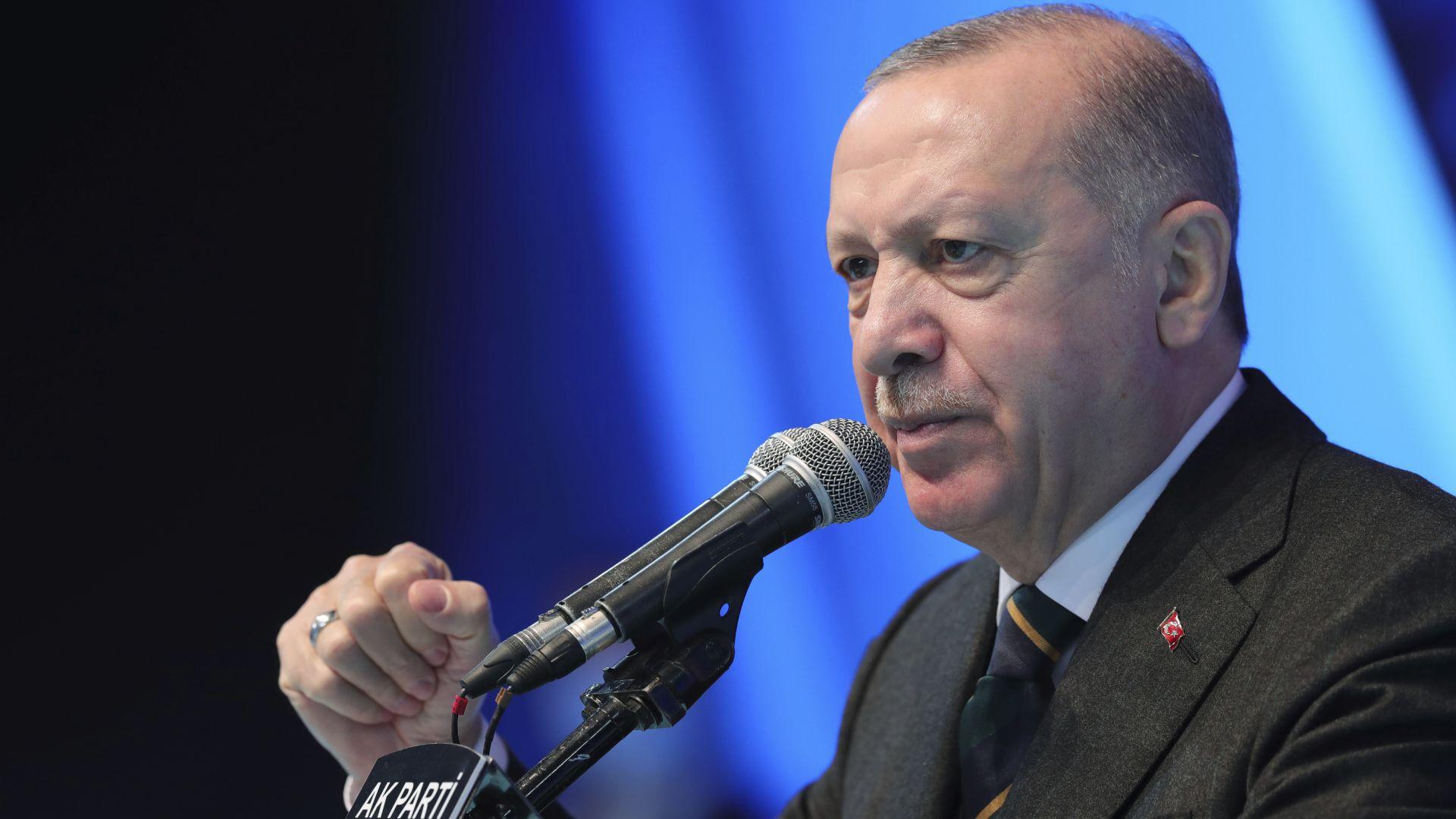 """Турският президент нарече Израел """"жестока терористична държава"""""""