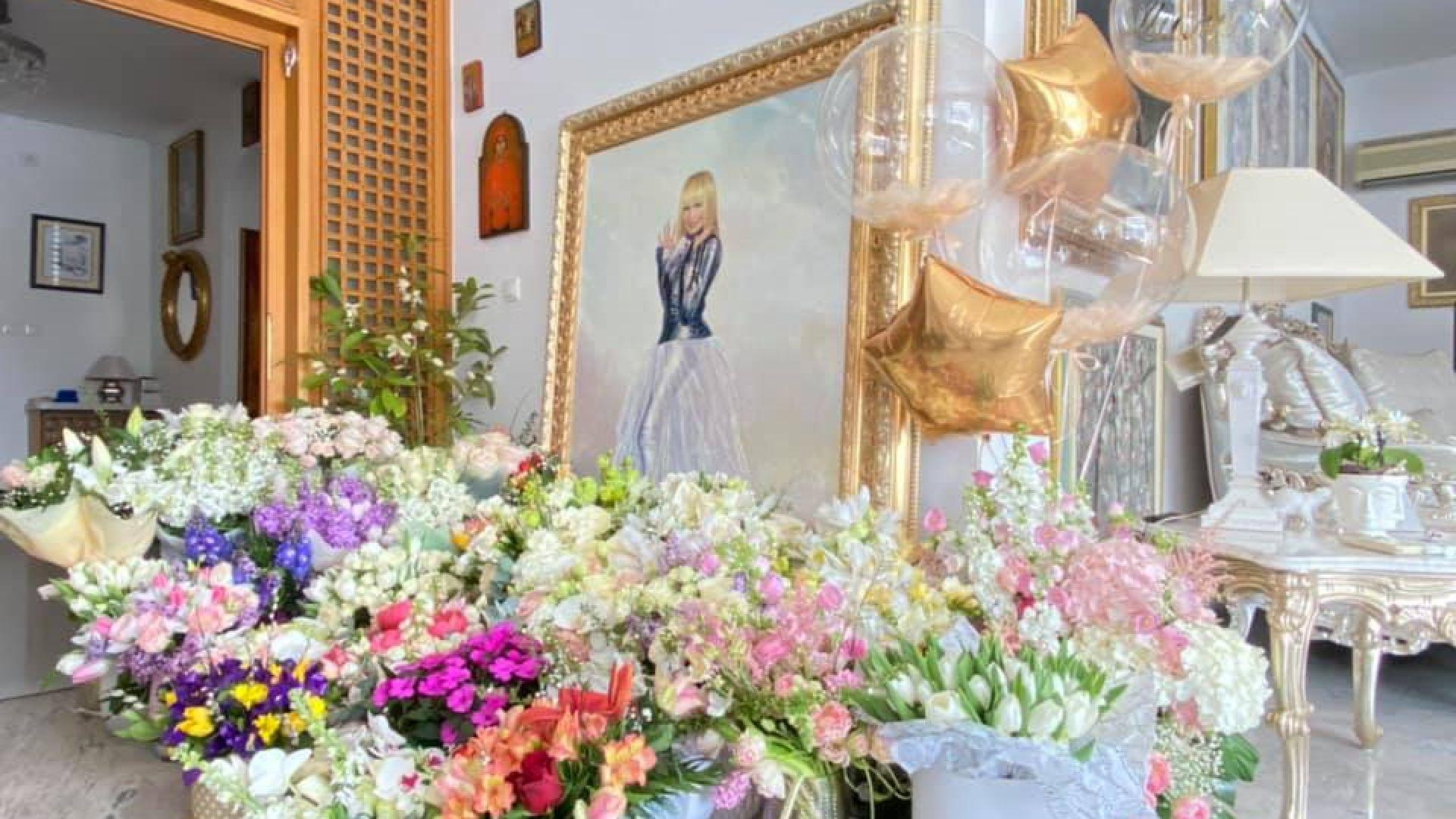 Рожденичката Лили Иванова благодари на Радев, Борисов и руската посланичка (снимки)