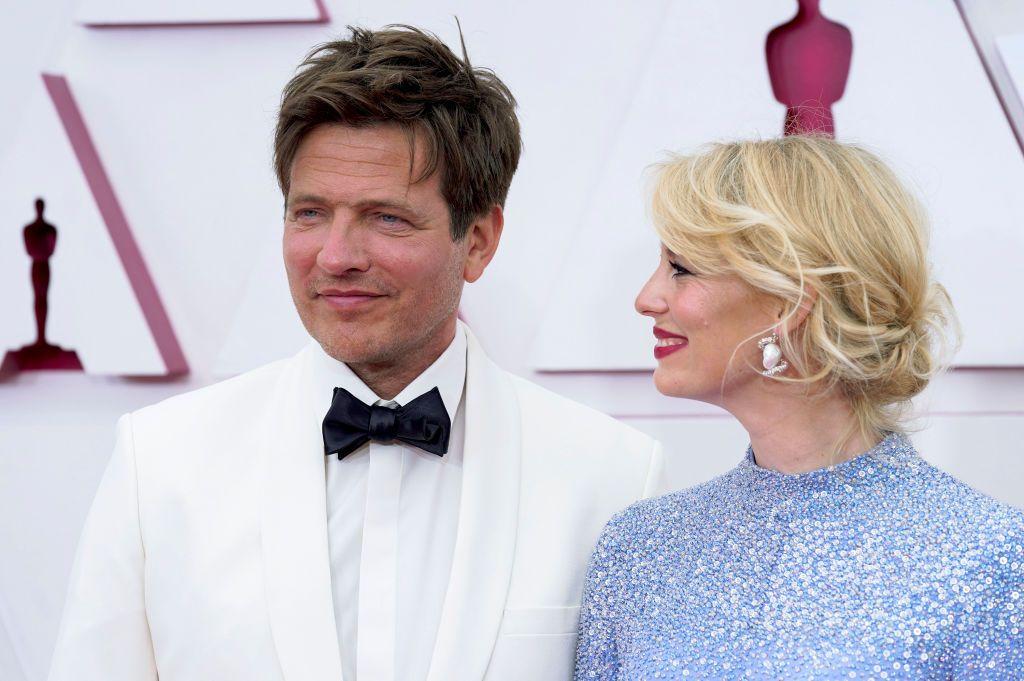 Томас Витенберг със съпругата си