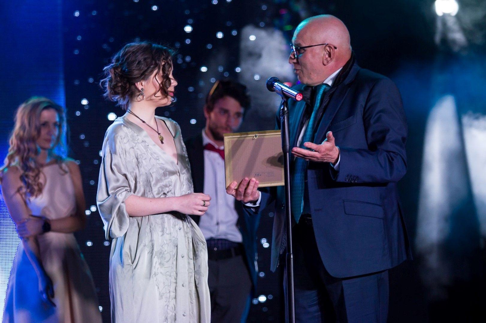 Почетният член на Фондацията Левон Хампарцумян и Елена Чергиланова