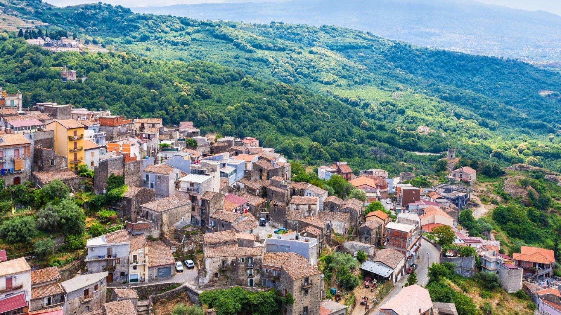 Панорамна гледка - Кастильоне ди Сичилия