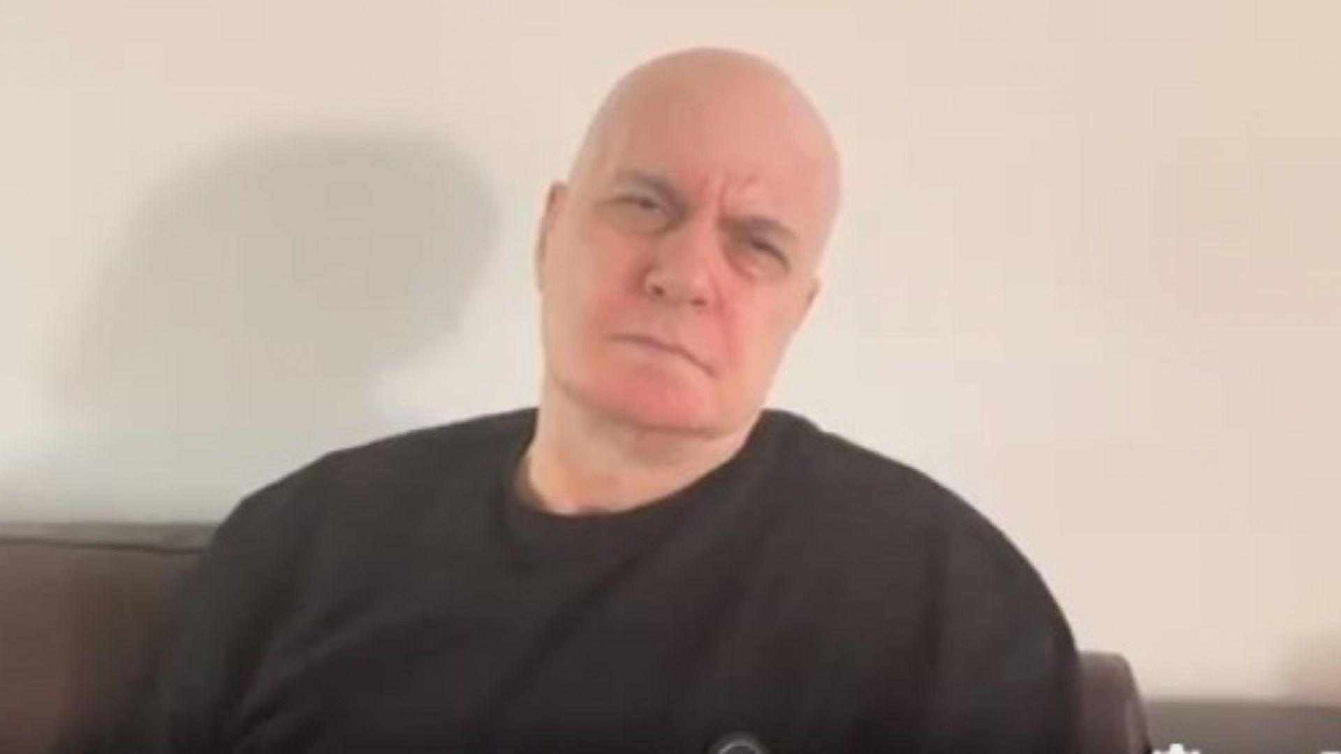 Слави Трифонов е в болница за контролен преглед