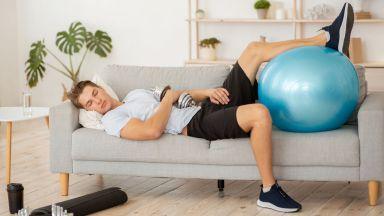 Липсата на физическа активност допринася за ускореното стареене