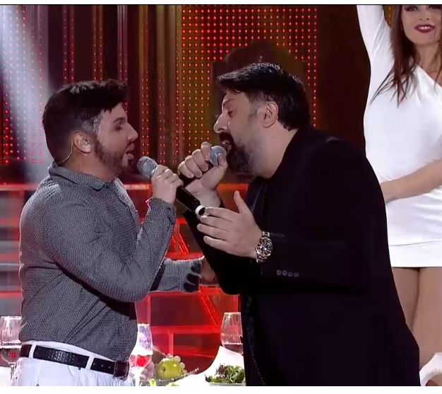 Михаела Маринова като Фики и Тони Стораро