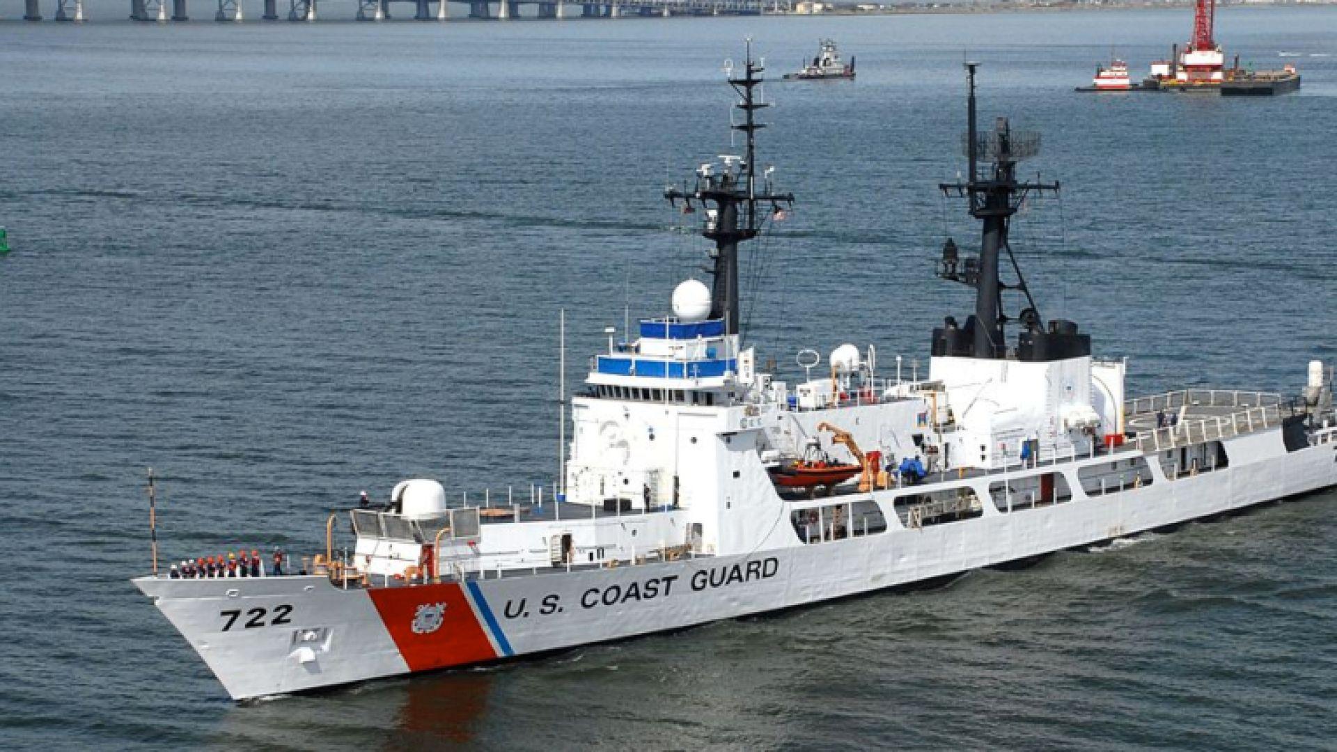 Катер от Бреговата охрана на САЩ се отправя към Черно море