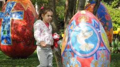 10 уникални яйца красят Пловдив за Великден (снимки)