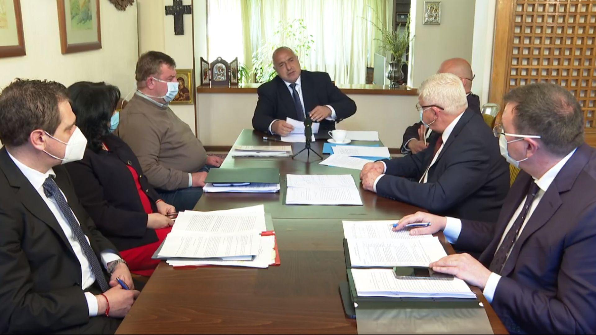 Борисов: Вкараха ни в тежка политическа криза, затова Радев потърква ръце