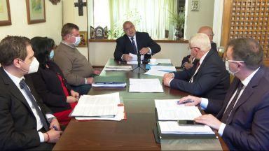 Бойко Борисов пред министрите в оставка: Изпълнихме в пълен обем грижата за българите (видео)