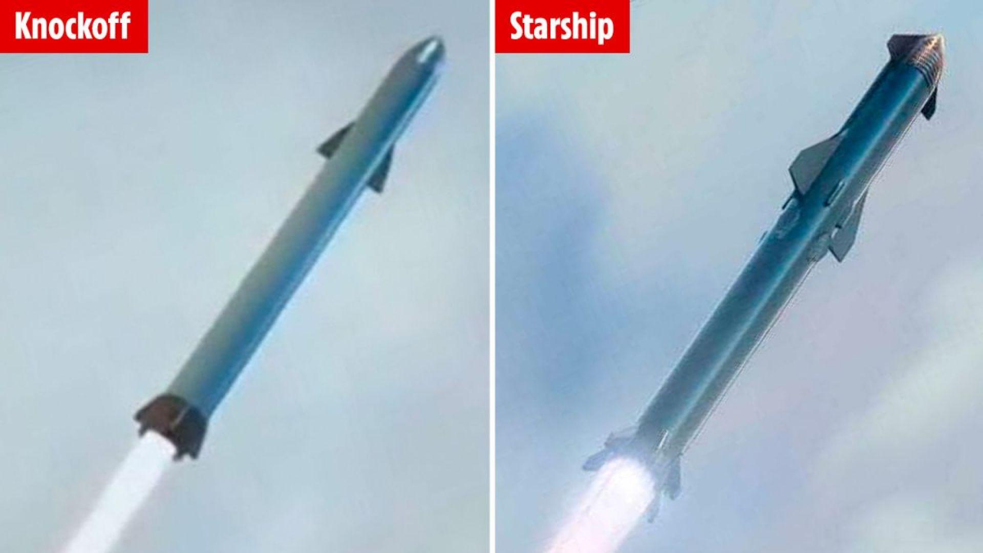 """Китай разработва """"клонинг"""" на космическия кораб Starship на SpaceX"""
