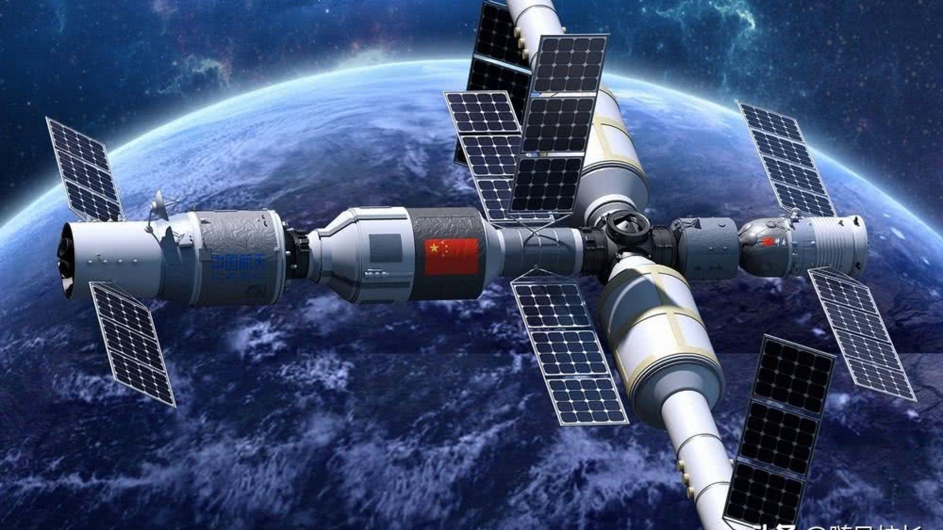 Китайската космическа станция