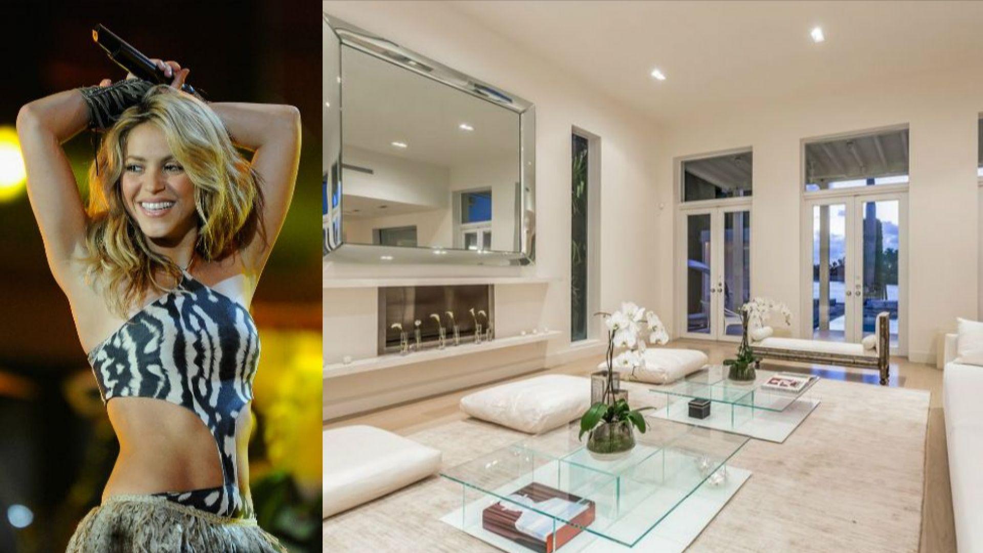 Вижте имението в Маями, което Шакира се опитва да продаде от години