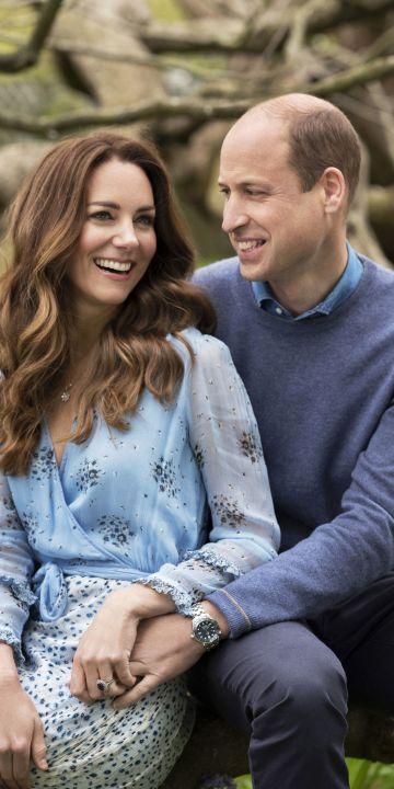 Уилям и Кейт отбелязаха 10 г. от брака си и със семеен видеозапис