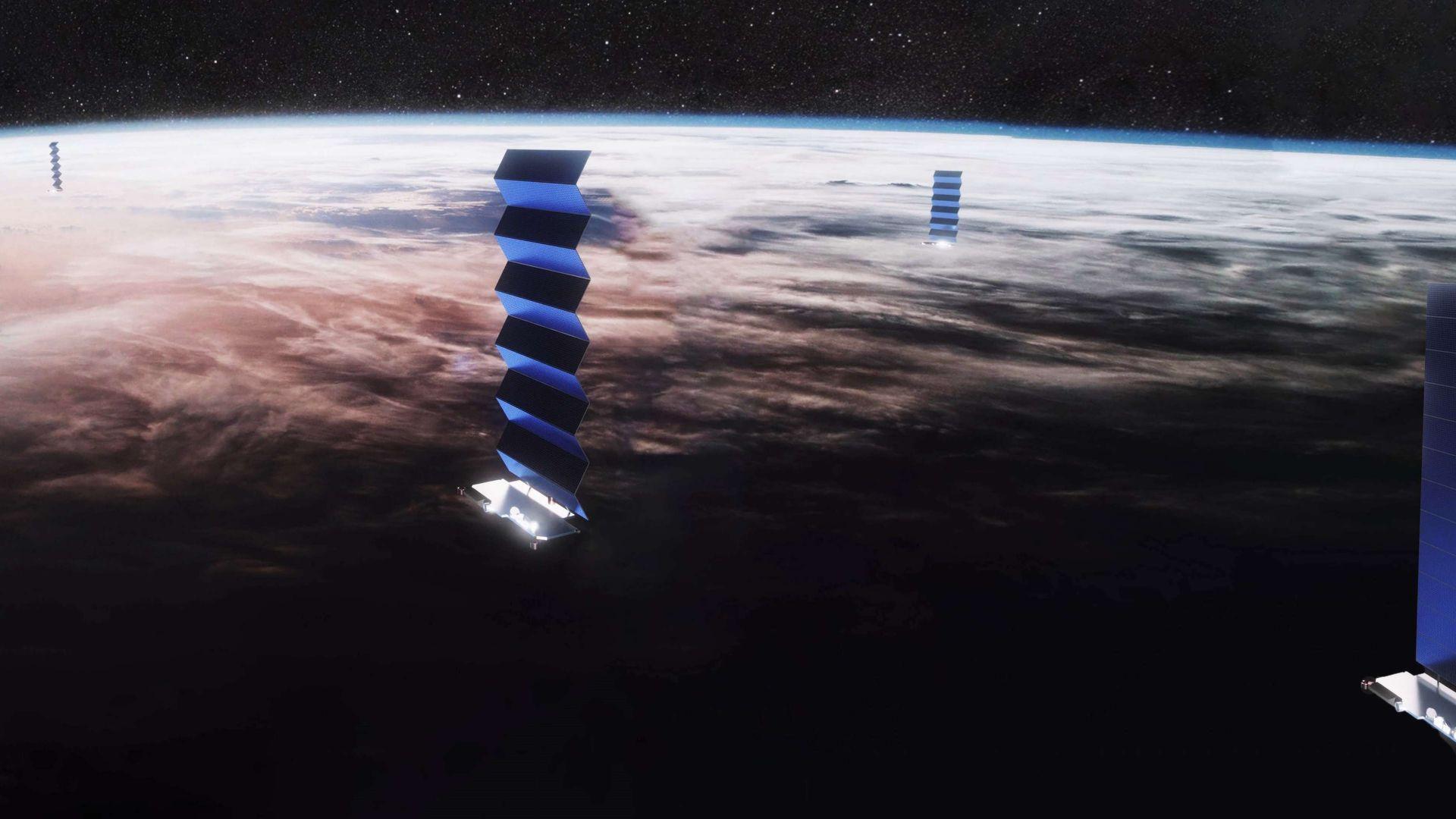 """Сателитите """"Старлинк"""" ще покрият цялата планета"""