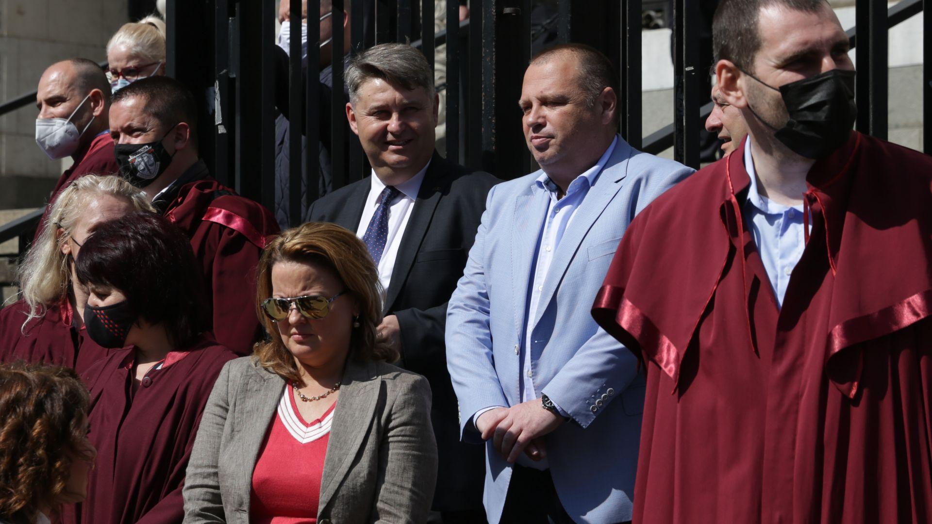 Прокурорите сезират Европа и посланиците за опит за намеса в независимостта на съдебната власт