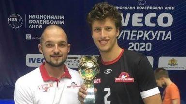 Наш 18-годишен талант във волейбола може да подпише с Монца