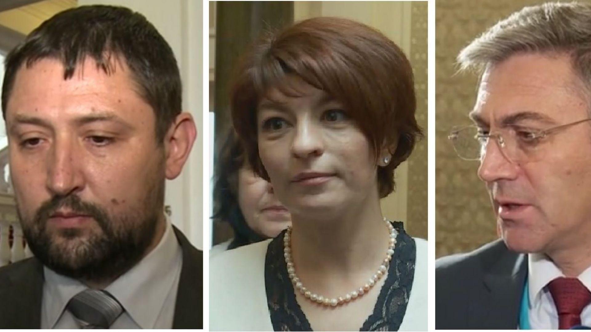 Реакциите за третия мандат: ДБ са разочаровани, БСП тепърва ще мислят