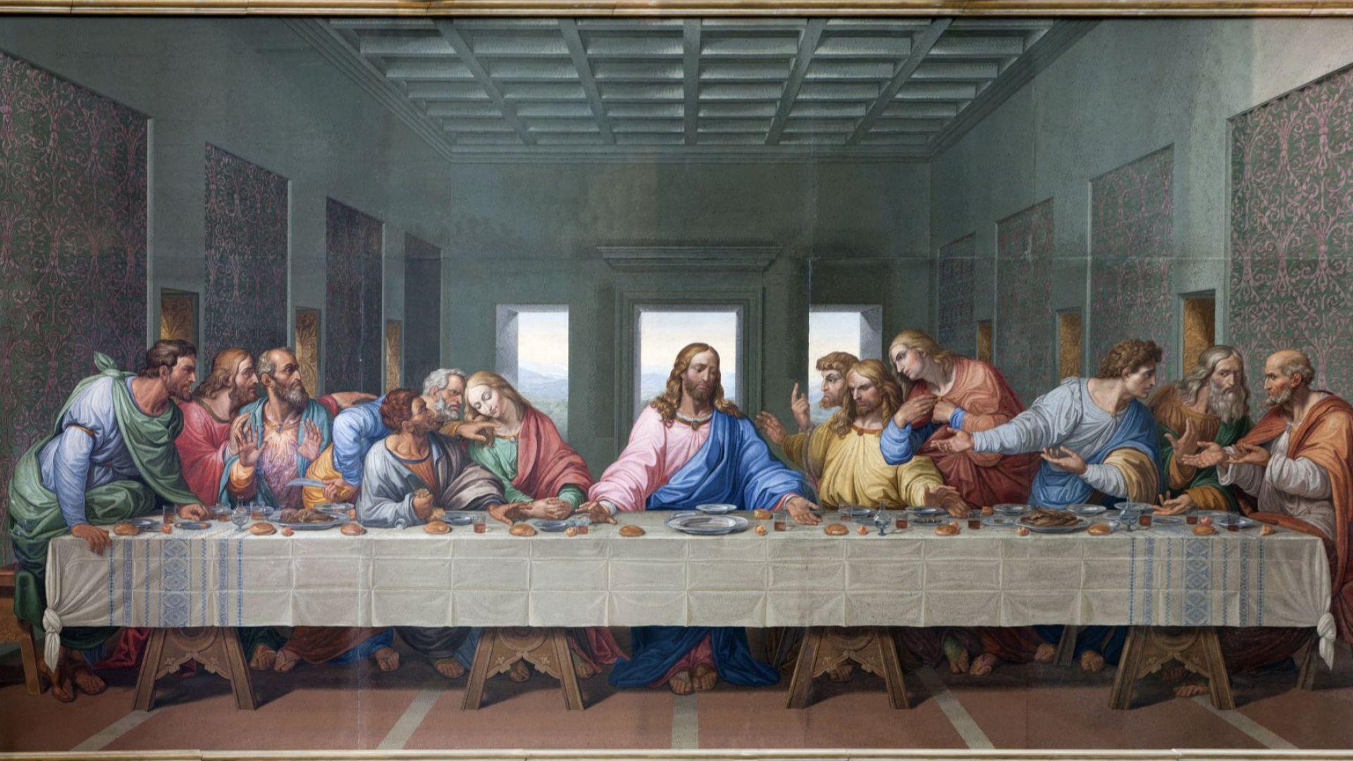 Велики четвъртък - Тайната вечеря на Исус Христос с апостолите