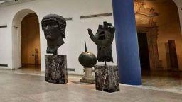 Бронзовият пръст на император Константин се връща в Капитолийските музеи