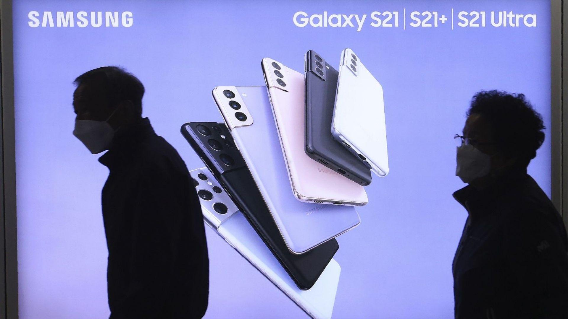 Samsung си върна короната при смартфоните