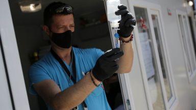 Опашки за ваксинация срещу Covid-19 в Бургас