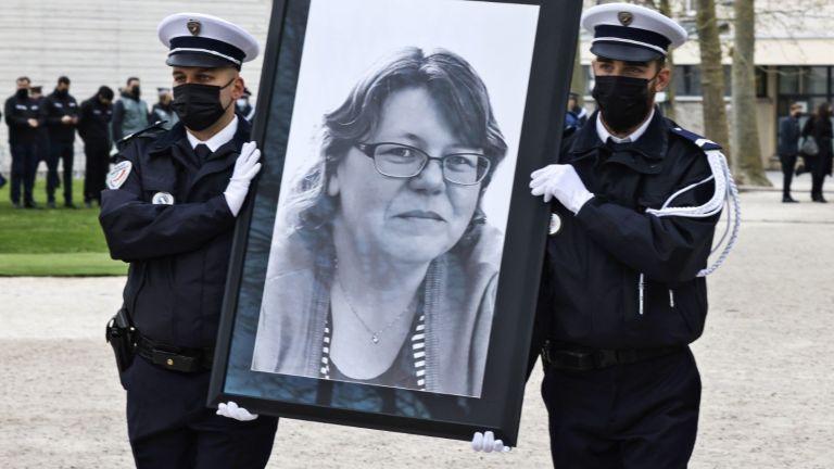 Убитата в Рамбуйе административна служителка на местната полиция Стефани Монферме