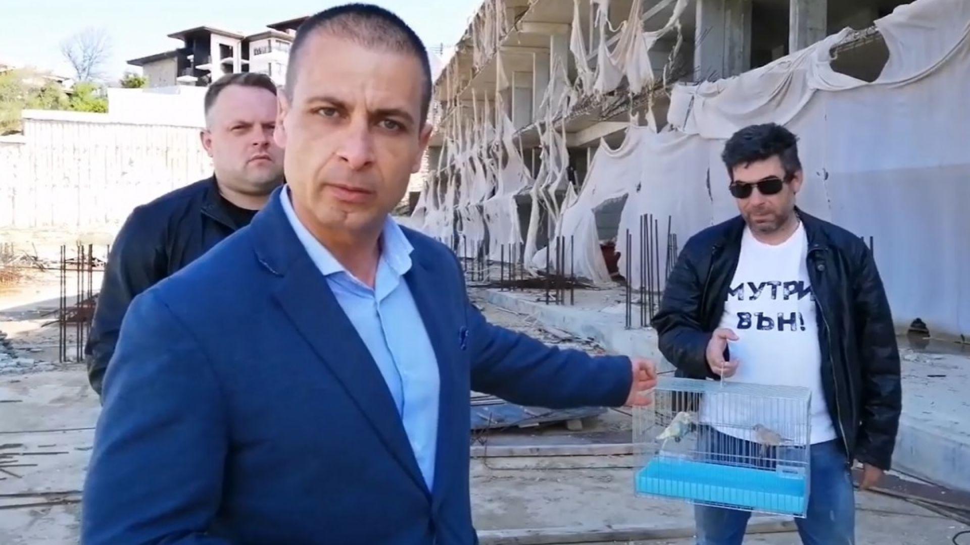 """""""Изправи се! Мутри вън!"""" поиска комисия за """"подпорната стена"""" на Алепу и къщата в Барселона"""