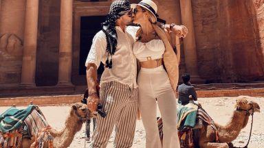 Джулиана Гани и Илиян Найденов – любов сред красотата на древния град Петра