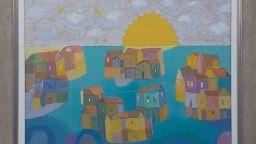 """""""Кадифено утро"""" от Димитър Каратонев в Галерия """"Париж"""""""