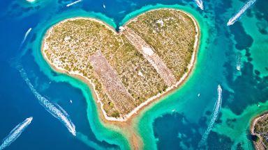 С любов от морето: 3 острова във форма на сърце (снимки)