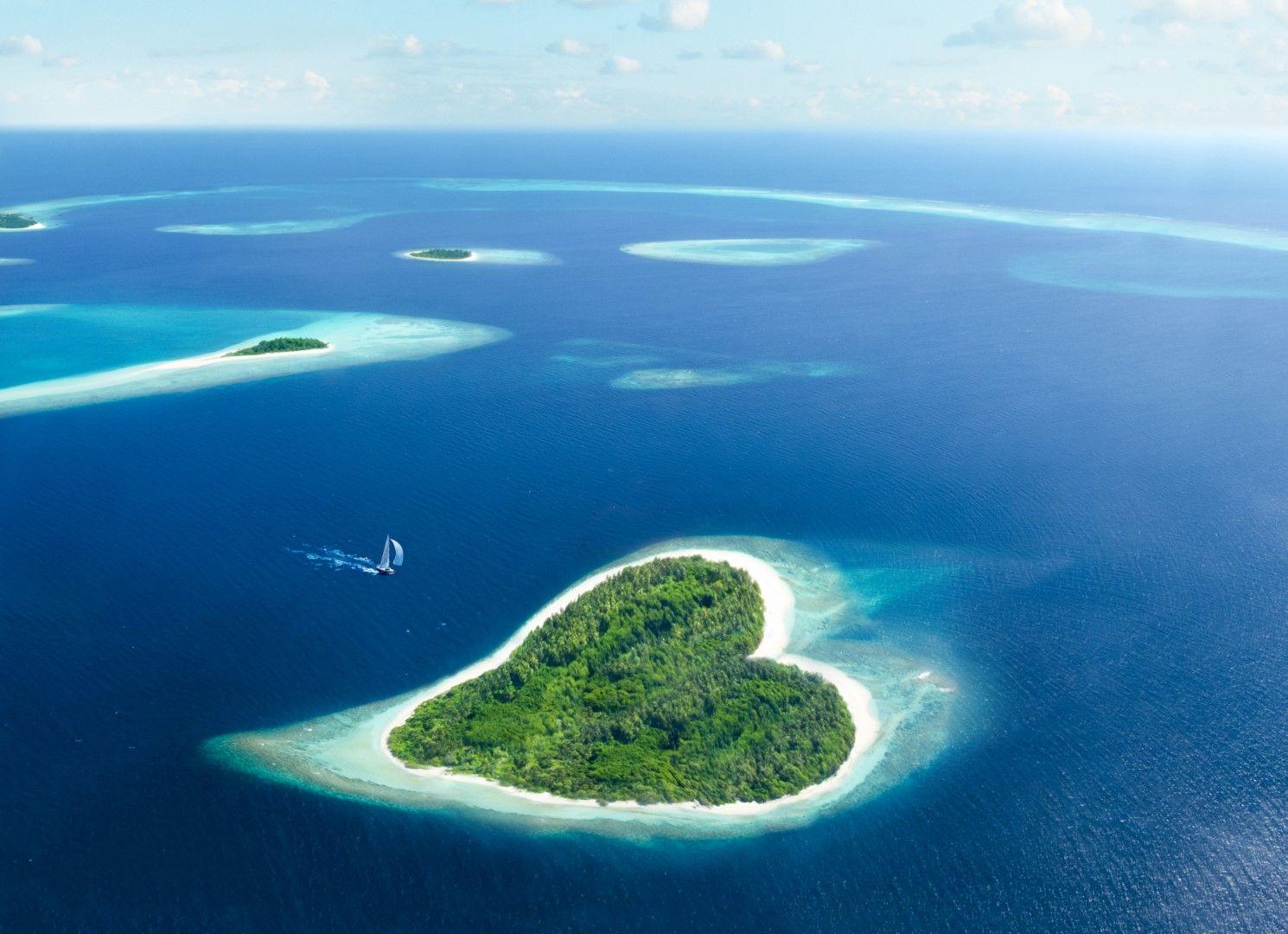 Остров Сърце, Малдиви