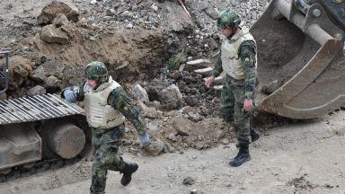 Отцепиха част от центъра на София заради авиоснаряд (снимки)