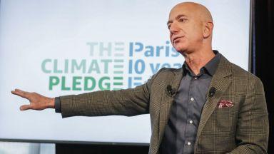 Джеф Безос продаде акции на Amazon за близо $2 млрд.