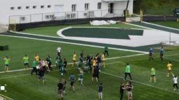 Жени се биха на футболен мач от турнира за Купата на България