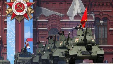 Генерална репетиция за парада на Червения площад (снимки)