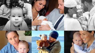 Меган Маркъл и принц Хари споделиха нова снимка на Арчи за 2-ия му рожден ден