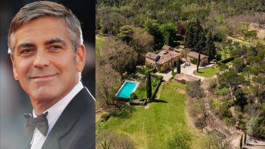 Джордж Клуни с имение в близост до това на Брад Пит в Южна Франция