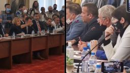 Бурни страсти при инфарктно изслушване на Илчовски, Манолова поиска помощ от НСО (видео)