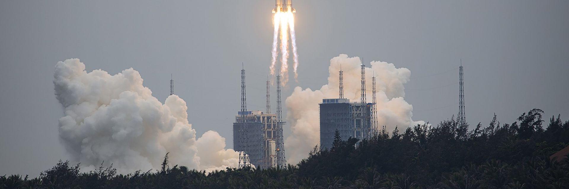 Отломки от китайската ракета може да паднат близо до южната ни граница
