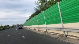 """Стартира нов етап по изграждането на шумозащитна стена край """"Сарафово"""", променят движението"""
