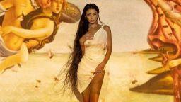 Божествена красота: Диляна Попова като Венера