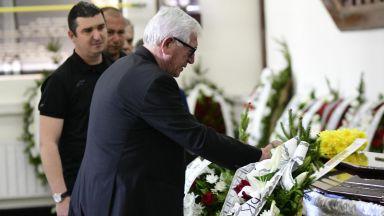 Стотици се простиха с легендата Георги Димитров (Снимки)