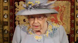 Кралица Елизабет II представи пред парламента план за възстановяване на икономиката