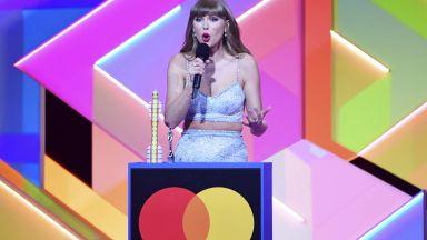 """Тейлър Суифт стана първата жена """"Глобална икона"""" на наградите БРИТ"""