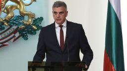 Служебният премиер Стефан Янев: Основен приоритет са честни избори