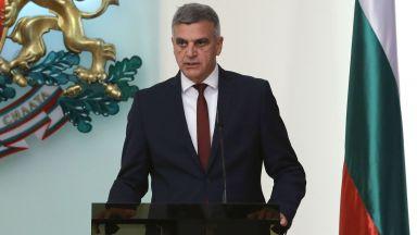 Служебният премиер Стефан Янев: Залагам целия си авторитет