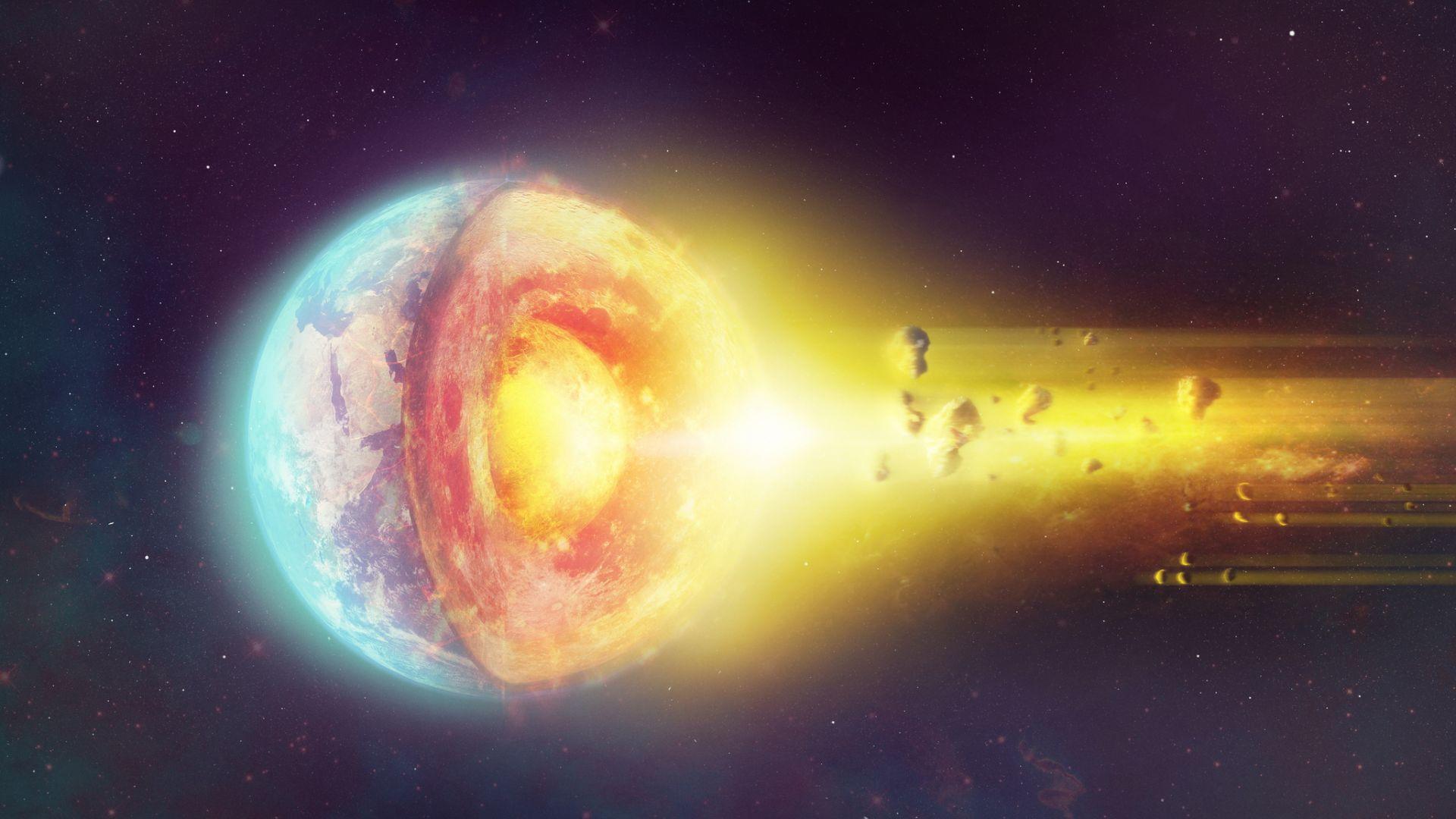 Ядрото на Земята може би не е твърдо