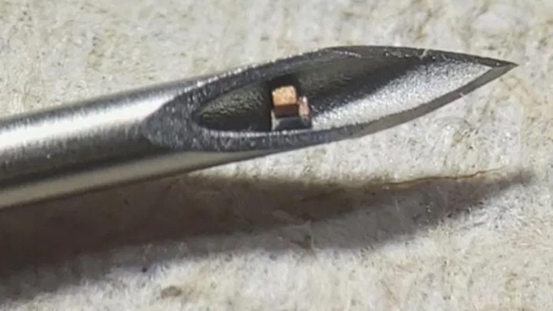 Инжектират чип в тялото с обикновена игла