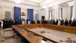 Служебните министри встъпиха в длъжност (снимки)