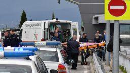Стрелба в метрото на летище София: Мъж е починал, жена се бори за живот (видео/снимки)